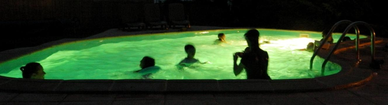 heated swimming pool with child friendly cottage accommodation in France
